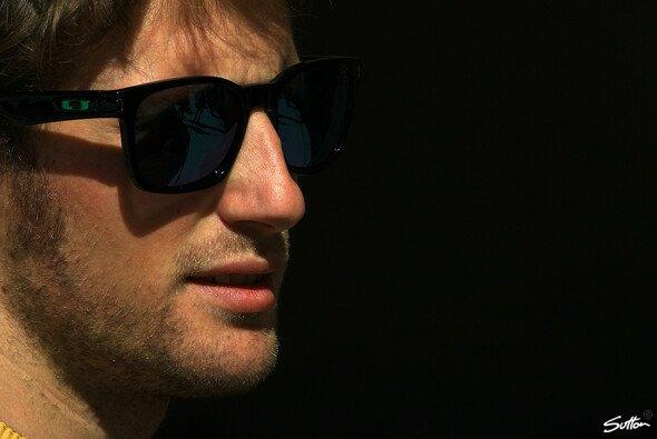 Grosjean durfte als Erster den neuen Simulator testen