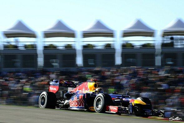 Sebastian Vettel belegte den zweiten Platz