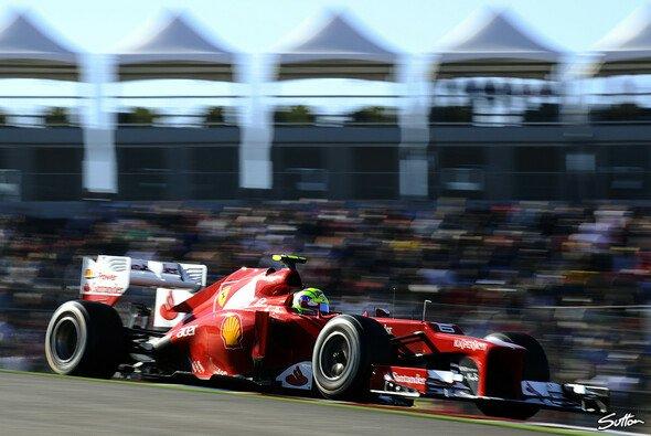 Felipe Massa fuhr von Startplatz elf auf Rang vier nach vorne