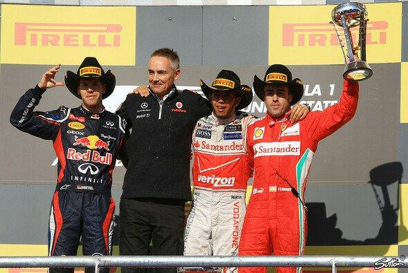 Sebastian Vettel reist mit 13 Punkten Vorsprung zum Finale