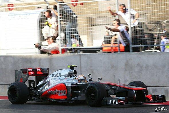 Lewis Hamilton fährt am Sonntag sein 110. Rennen für McLaren