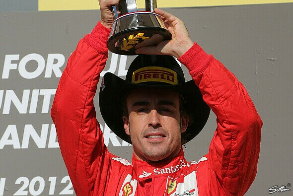 Alonso feierte Platz drei wie den Sieg