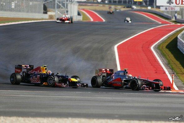 Die Fahrer dürfen 2013 zwei Mal den Heckflügel flach stellen, um den Gegner zu überholen