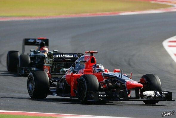 Timo Glock will Marussia vor Caterham halten