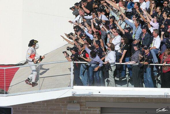 Die McLaren-Piloten wollen sich endlich auch in Brasilien als Sieger feiern lassen