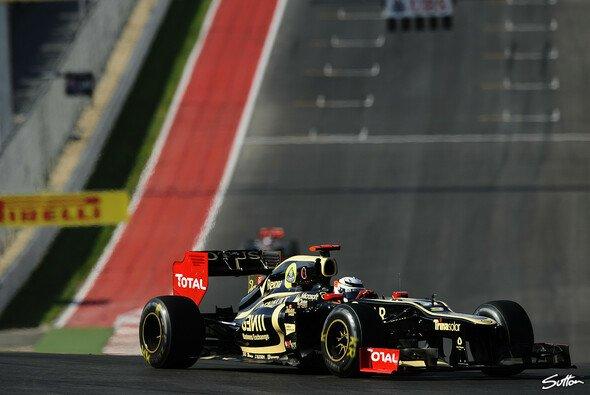 Für Kimi Räikkönen sah es in Austin bis zum Stopp nicht schlecht aus