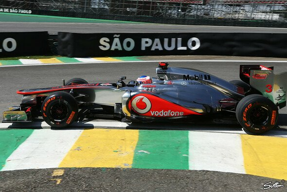 Lewis Hamilton war in den Brasilien-Trainings gut unterwegs - Foto: Sutton