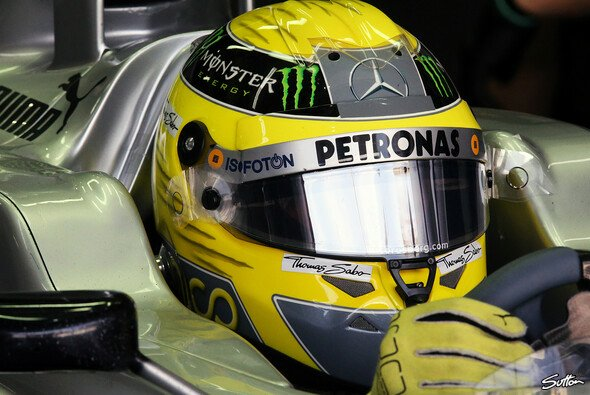 Visier runter und Gas geben: Nico Rosberg will am Wochenende wieder Punkte einfahren