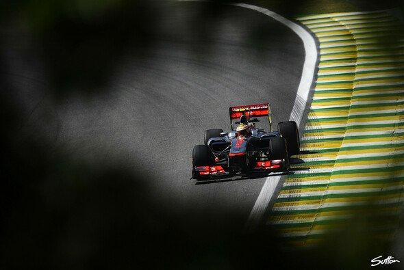 Hamilton fuhr erneut Bestzeit