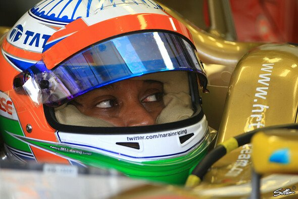 Narain Karthikeyan beim Formel-1-Finale 2012 in Brasilien