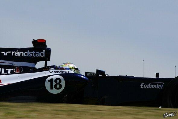Pastor Maldonado fuhr direkt seine Box an und hielt nicht wie gefordert zum Wiegen bei der FIA an