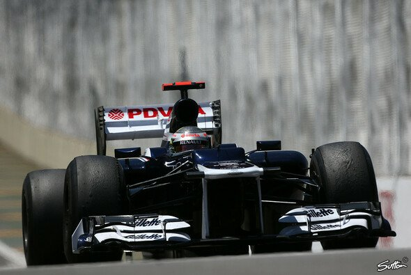 Pastor Maldonado wartet auf die Vertragsverlängerung mit Williams