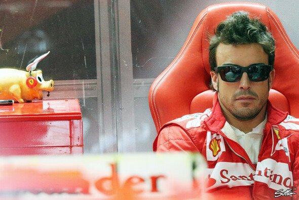 Fernando Alonso hatte sich von der Zeit bei Ferrari sicherlich mehr erhofft - Foto: Sutton
