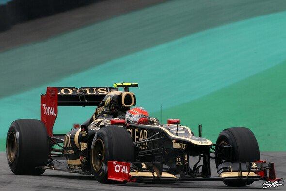 Romain Grosjean verriet, dass der neue Lotus noch Ende Januar vorgestellt wird