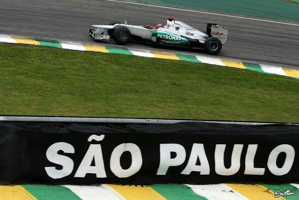 Michael Schumacher fährt zum letzten Mal in Sao Paulo