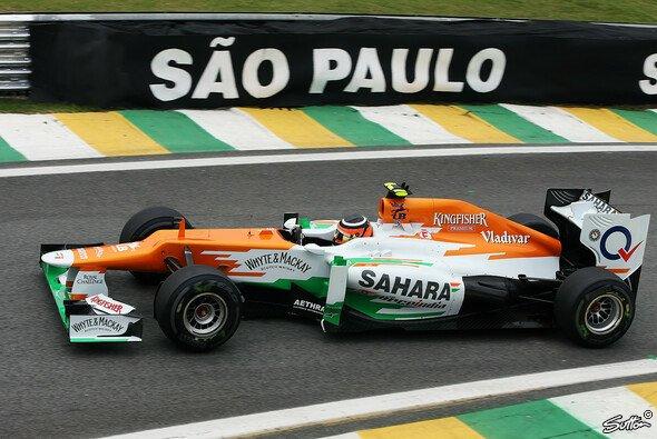 Nico Hülkenberg hatte in Brasilien alle Chancen