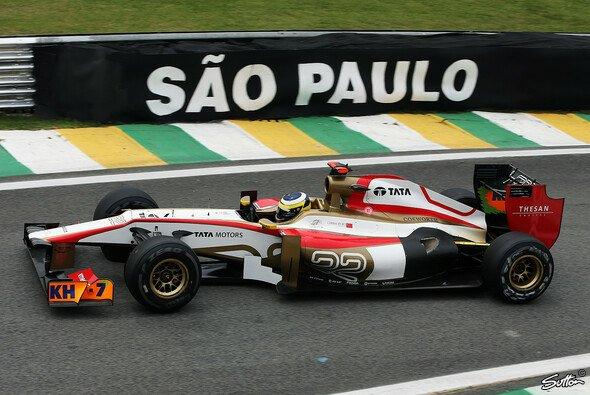 HRT fuhr in Brasilien sein letztes Rennen in der Königsklasse - Foto: Sutton