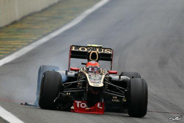 Romain Grosjean produzierte viel Schrott, aber schnell ist er