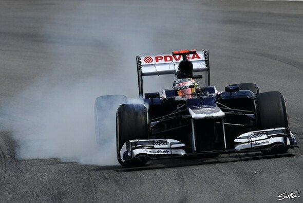 Pastor Maldonados Rennen endete in Runde 2 - Foto: Sutton