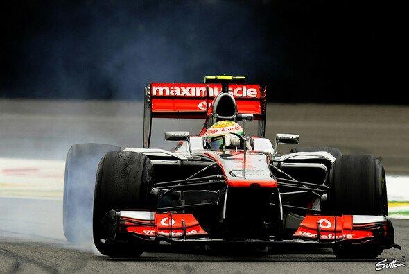 Lewis Hamilton sah bei McLaren genug Potential, um bis zum Schluss um den Titel zu fahren