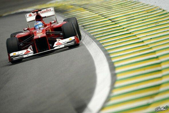 Fernando Alonso kämpfte mit der Balance des F2012