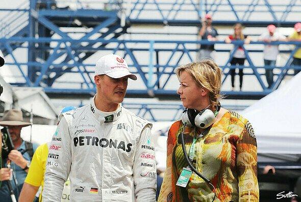 Sabine Kehm arbeitet seit dem Jahr 2000 für Michael Schumacher - Foto: Sutton