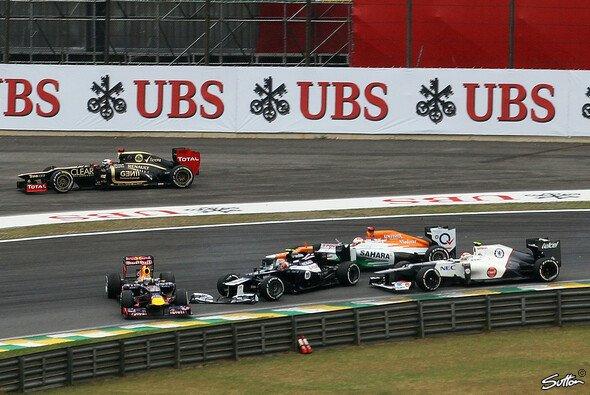 Bruno Senna wollte niemanden umdrehen