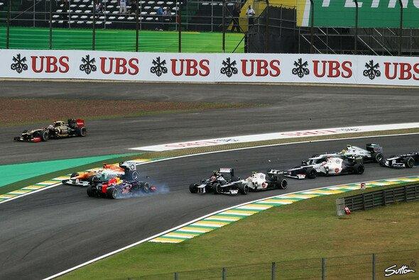 Alexander Wurz sieht Bruno Senna nicht allein in der Schuld für den Startunfall mit Sebastian Vettel