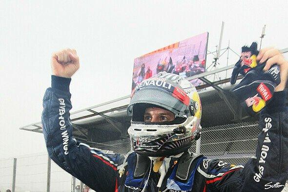 Vettel sicherte sich mit P6 den dritten Titel