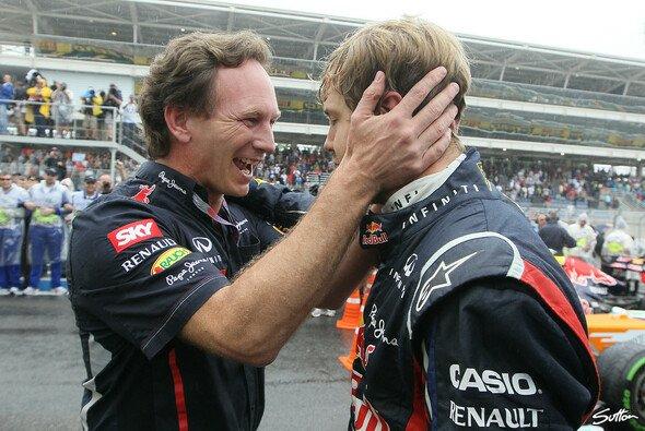 Christian Horner ist von Sebastians Vettels mentaler Stärke beeindruckt