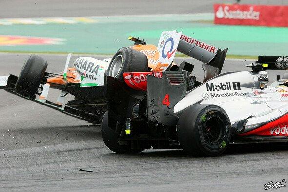 Der Unfall zwischen Nico Hülkenberg und Lewis Hamilton wurde bereits während des Rennens untersucht