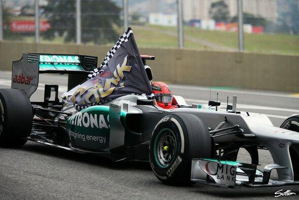 Michael Schumacher ist einer der Gründungsväter des Mercedes-Erfolgs - Foto: Sutton