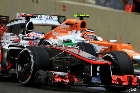 Jenson Button will seine Reifensorgen 2013 endlich in den Griff kriegen