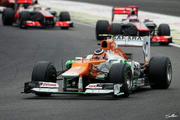 Force India etablierte sich in der zweiten Saisonhälfte als fünfte Kraft