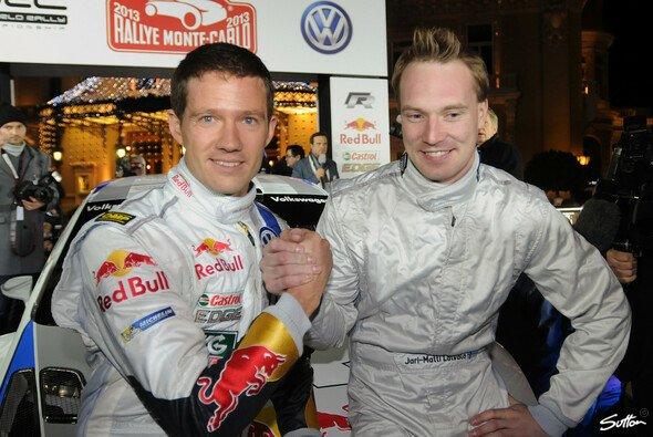 Jari-Matti Latvala und Sebastien Ogier - Freunde und Konkurrenten