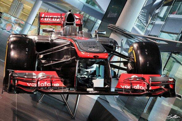 Da ist der neue Chrompfeil: Der McLaren MP4-28 für 2013