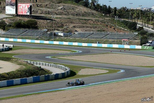 Nico Rosberg drehte am Montag bereits die erste Runde zu Filmaufnahmen
