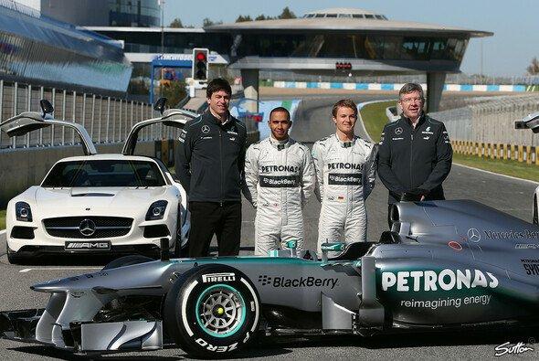Die Personalrochaden blieben laut Nico Rosberg ohne Folgen für den W04