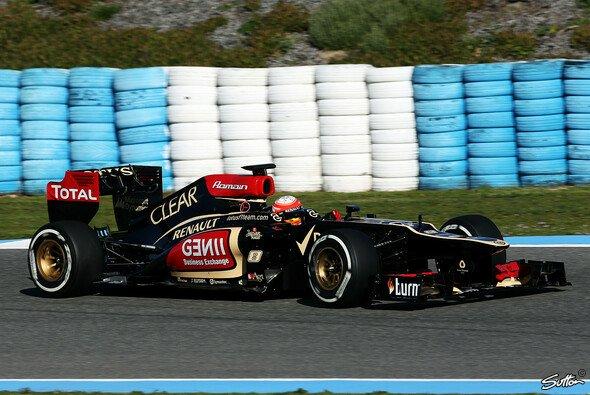 Grosjean zeigte in Jerez eine gute Performance