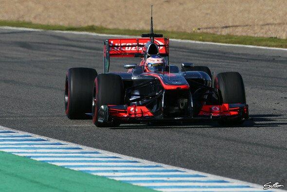 Jenson Button fuhr Bestzeit