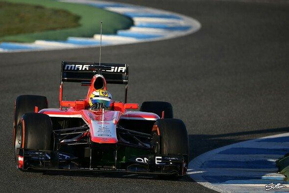 Luiz Razia sorgte bei seinem Marussia-Debüt für rote Flaggen