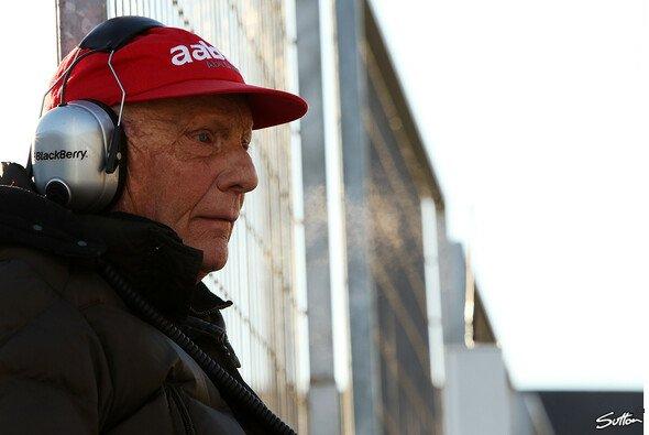 Niki Lauda sieht Mercedes in der ersten Verfolgergruppe nach Red Bull