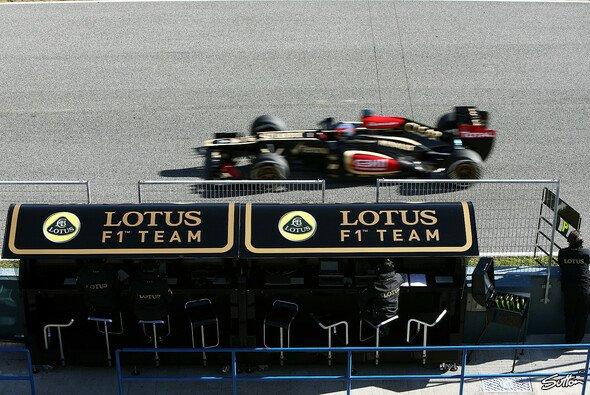 Grosjean war am Mittwoch der schnellste Mann - Foto: Sutton