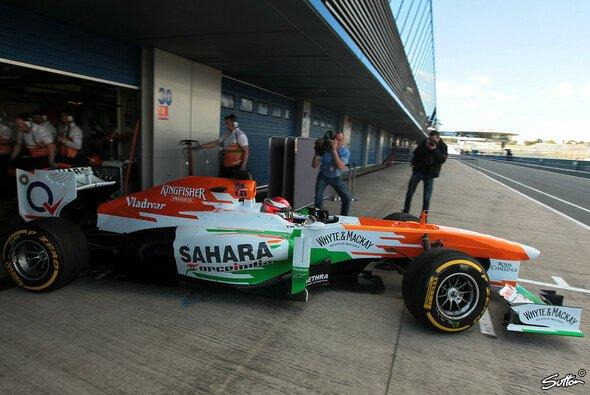 Bei James Rossiter & Force India kam es zu einem folgenschweren Zwischenfall