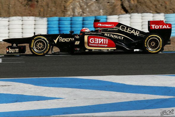 Grosjean fuhr Bestzeit
