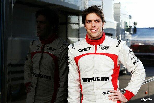Da war die Welt noch in Ordnung: Razia beim Testauftakt in Jerez - mit Marussia
