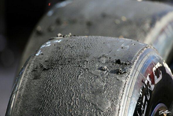 Die kalten Temperaturen setzten den Pirellis stark zu