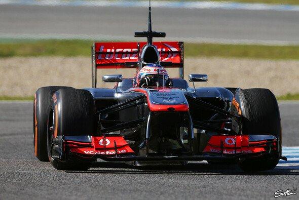 Button fuhr am dritten Testtag auf Platz sieben