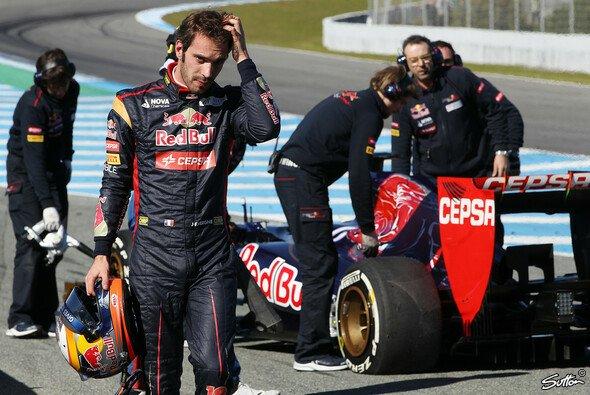 Toro Rosso ließ sich beim Jerez-Test auch durch kleine Rückschläge nicht aus der Ruhe bringen