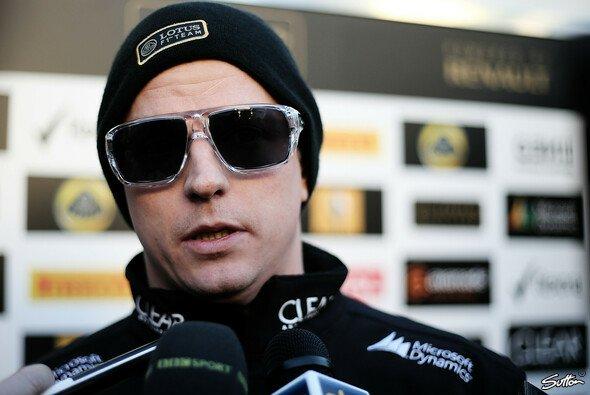 Kimi Räikkönen hofft auf Konstanz und Zuverlässigkeit - Foto: Sutton
